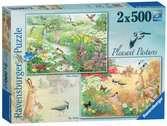 Pleasant Pastures, 2x500pc Puzzles;Adult Puzzles - Ravensburger