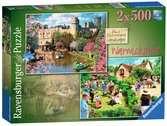 Picturesque Warwickshire, 2x500pc Puzzles;Adult Puzzles - Ravensburger