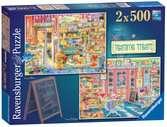 Teatime Treats, 2x500pc Puzzles;Adult Puzzles - Ravensburger