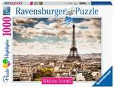 Puzzle 1000 p - Paris (Puzzle Highlights) Puzzle;Puzzles adultes - Ravensburger