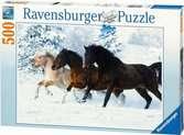 Galop dans la neige Puzzle;Puzzle adulte - Ravensburger