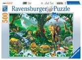 Harmonie im Dschungel Puzzle;Erwachsenenpuzzle - Ravensburger