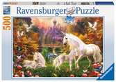 Magical Unicorns, 500pc Puslespil;Puslespil for voksne - Ravensburger