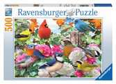 Garden Birds, 500pc Puzzles;Adult Puzzles - Ravensburger