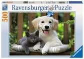 Petite pause à midi Puzzle;Puzzle adulte - Ravensburger