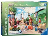 Happy Days at Work, The Train Driver, 500pc Puzzles;Adult Puzzles - Ravensburger