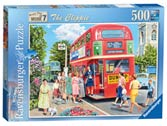 Happy Days at Work, The Clippie, 500pc Puzzles;Adult Puzzles - Ravensburger