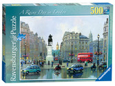 Rainy Day in London, 500pc Puzzles;Adult Puzzles - Ravensburger