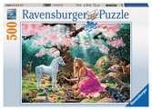 MAGICZNE SPOTKANIE 500EL Puzzle;Puzzle dla dzieci - Ravensburger