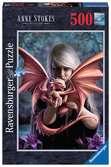 Puzzle 500 p - La fille au dragon / Anne Stokes Puzzle;Puzzle adulte - Ravensburger