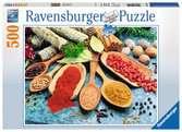 Bunter Gewürztisch Puzzle;Erwachsenenpuzzle - Ravensburger