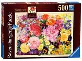 The Cottage Garden - Summer, 500pc Puzzles;Adult Puzzles - Ravensburger
