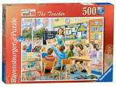 Happy Days at Work - The Teacher, 500pc Puzzles;Adult Puzzles - Ravensburger