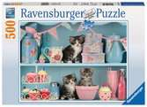 Kittens and Cupcakes, 500pc Puslespil;Puslespil for voksne - Ravensburger