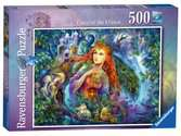 Fairy World No.1, Fairy of the Forest, 500pc Puzzles;Adult Puzzles - Ravensburger