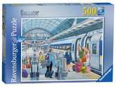 Eurostar at St Pancras, 500pc Puzzles;Adult Puzzles - Ravensburger