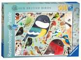 Matt Sewell´s, Our British Birds, 500pc Puzzles;Adult Puzzles - Ravensburger