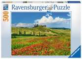 Summer in Tuscany, 500pc Puzzles;Adult Puzzles - Ravensburger