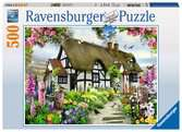 Idyllische cottage / Charmant cottage Puzzle;Puzzles adultes - Ravensburger