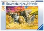 Animaux africains Puzzle;Puzzle adulte - Ravensburger