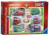 London Buses from 1945, 500pc Puzzles;Adult Puzzles - Ravensburger