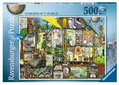 Tomorrow´s World, 500pc Puzzles;Adult Puzzles - Ravensburger