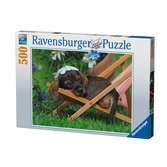Charmant Teckel Puzzle;Puzzle adulte - Ravensburger
