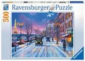 Winter in Paris, 500pc Puzzles;Adult Puzzles - Ravensburger