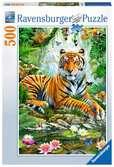 Puzzle 500 p - Tigre dans la forêt vierge Puzzle;Puzzles adultes - Ravensburger