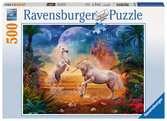 Schitterende eenhoorns Puzzels;Puzzels voor volwassenen - Ravensburger