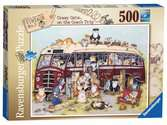 Crazy Cats Vintage Bus, 500pc Puzzles;Adult Puzzles - Ravensburger