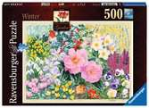 The Cottage Garden No. 4, Winter, 500pc Puzzles;Adult Puzzles - Ravensburger