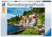 Lake Como, Italy, 500pc Puzzles;Adult Puzzles - Ravensburger
