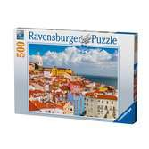 Lisbon, Portugal, 500pc Puzzles;Adult Puzzles - Ravensburger