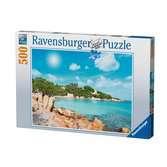 Plage de Sardaigne Puzzle;Puzzle adulte - Ravensburger