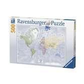 Carte du monde Puzzle;Puzzle adulte - Ravensburger