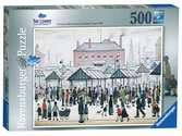 Lowry Market Scene North, 500pc Puzzles;Adult Puzzles - Ravensburger