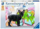 BULDOG FRANCUSKI 500EL Puzzle;Puzzle dla dzieci - Ravensburger