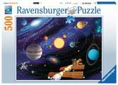 UKŁAD SŁONECZNY 500EL Puzzle;Puzzle dla dzieci - Ravensburger