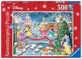 Disney Princess Christmas Celebrations, 500pc Puzzles;Adult Puzzles - Ravensburger
