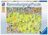 MECZ PIŁKI NOŻNEJ 500EL Puzzle;Puzzle dla dzieci - Ravensburger