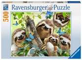 Sloth Selfie, 500pc Puzzles;Adult Puzzles - Ravensburger