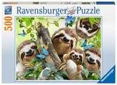 Sloth Selfie, 500pc Puslespil;Puslespil for voksne - Ravensburger