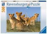Leeuwenwelpen Puzzels;Puzzels voor volwassenen - Ravensburger