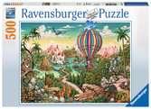 PODRÓŻ BALONEM 500EL Puzzle;Puzzle dla dzieci - Ravensburger