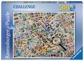 ZNACZKI POCZTOWE 500EL Puzzle;Puzzle dla dzieci - Ravensburger