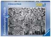 Zebra Challenge Jigsaw Puzzles;Adult Puzzles - Ravensburger