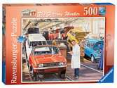 Happy Days at Work, The Factory Worker, 500pc Puzzles;Adult Puzzles - Ravensburger