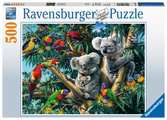 Koalas in a Tree, 500pc Puzzles;Adult Puzzles - Ravensburger