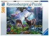 Deer in the Wild Puslespil;Puslespil for voksne - Ravensburger